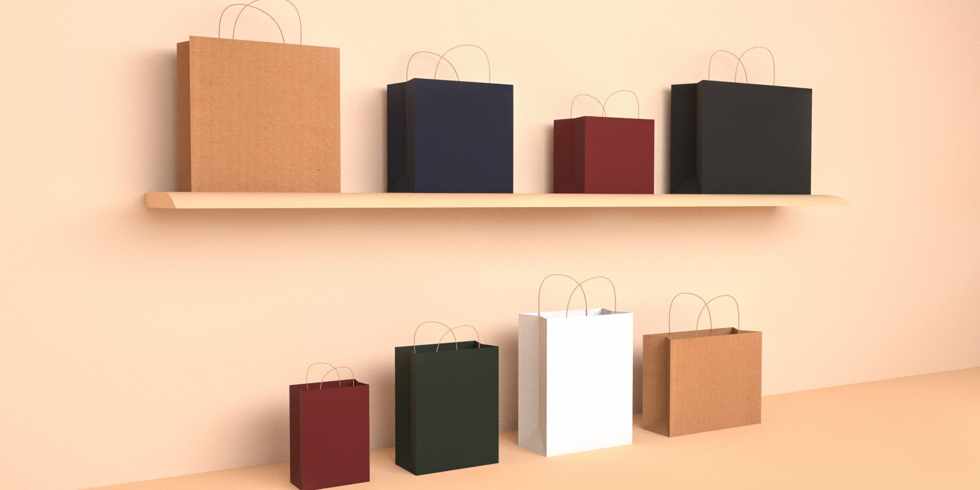 7 Effective Reasons-How to Choose A Best Kraft Paper Bag?